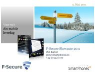 Smartphones intro v. Jan Christensen - C-cure