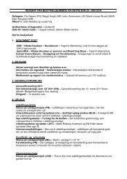 Referat af bestyrelsesmøde 29. juni 2010