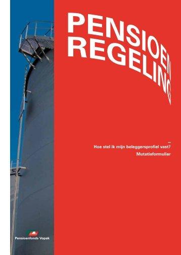 Brochure Individueel pensioenbeleggen - Bijlage - Pensioenfonds ...