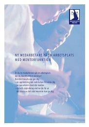 Nyanställd på en arbetsplats med mentorskap - mentorcenter.dk