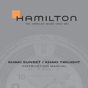 KHAKI SuNSET / KHAKI TWILIGHT - Hamilton