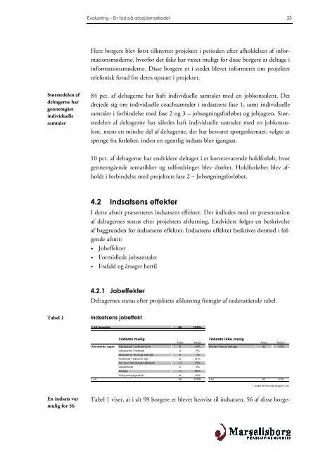 """""""En fod på arbejdsmarkedet"""" maj 2011 (pdf) - Dansk Blindesamfund"""