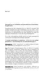 Spørgsmål og svar i forbindelse med ... - Finanstilsynet