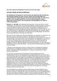 Lesen Sie den vollständigen Presseartikel als PDF - Orthopädisches ...