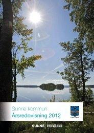 Till årsredovisningen Sunne kommun, 2012