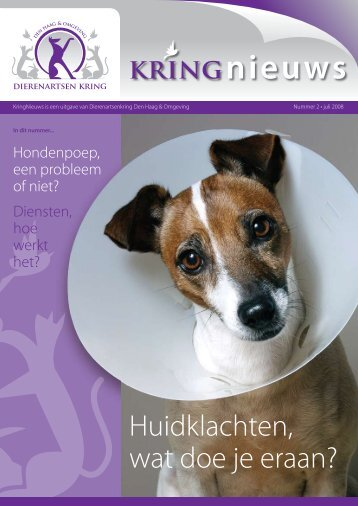 kRiNGnieuws - Kring Dierenartsen Den Haag e.o.