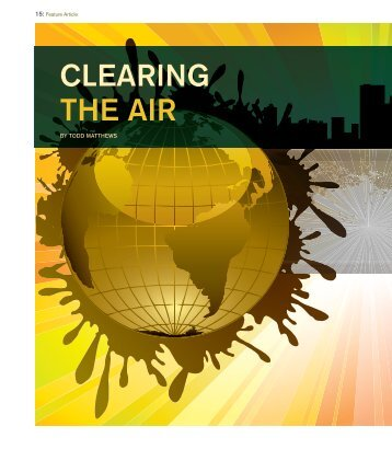 CLEARING THE AIR - Todd Matthews