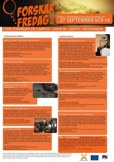 Ladda ner programmet (pdf) - Campus Skellefteå