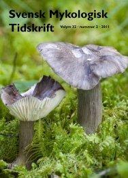 SMT 2-2011 - Sveriges Mykologiska Förening