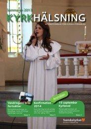 Kyrkhälsning 2013 nr 2 - Svedala församling