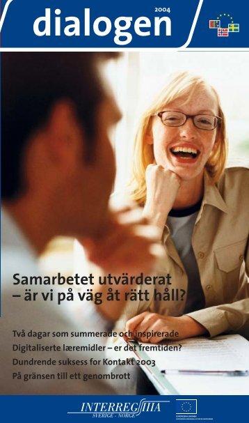 Samarbetet utvärderat – är vi på väg åt rätt håll? - Interreg Sverige ...
