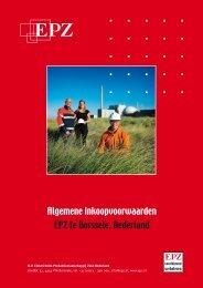 Algemene inkoopvoorwaarden EPZ te Borssele, Nederland