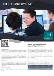 Faktaark_Pba. i Softwareudvikling web