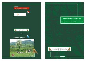 Heggendeclaratie van Boxmeer - Stichting Heg-en-Landschap