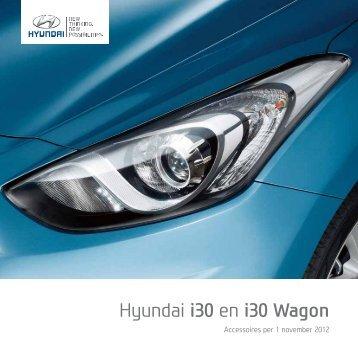 Hyundai i30 accessoire brochure