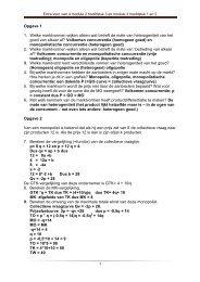 extra opgaven module 2 en 3