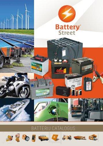 batterij catalogus - Battery Street