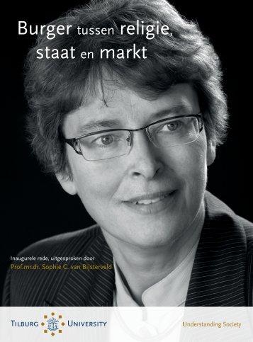 Burger tussen religie, staat en markt - Sophie van Bijsterveld