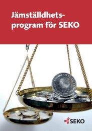 Jämställdhets- program för SEKO