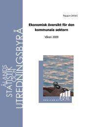 Ekonomisk översikt för den kommunala sektorn - Ålands ...