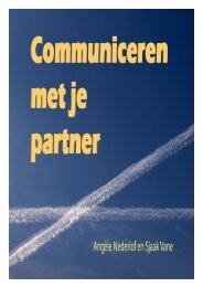 Communiceren met je partner - Relatietherapie-weekend.nl