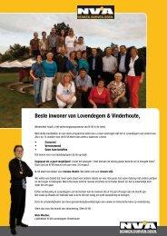 Beste inwoner van Lovendegem & Vinderhoute, - N-VA Lovendegem