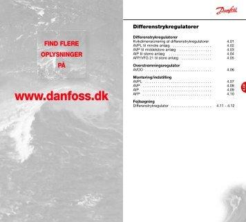 Danfoss A/S | VVS-guiden | Kapitel 4.00 - Danfoss Varme - Danfoss ...