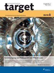 Beschleunigung von Protonen mit dem PHELIX-Laser