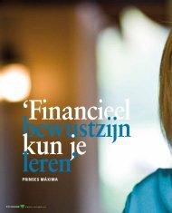 Interview met Prinses Máxima - Verbond van Verzekeraars