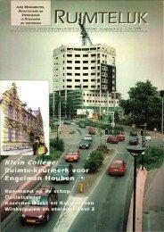 Ruimtelijk juni 1999 - Stichting Ruimte Roermond