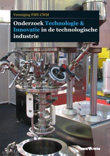 Onderzoek Technologie & Innovatie in de technologische industrie