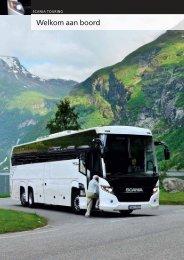 Brochure Scania Touring: Welkom aan boord