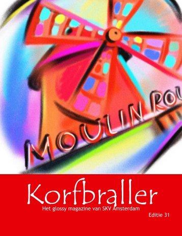 Korfbraller mei 2012 - De studenten korfbal vereniging van Amsterdam