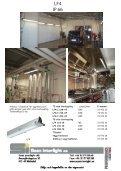 armaturer med lysrör och urladdningsljuskällor för ... - Scan Interlight - Page 4
