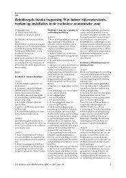 Beleidsregels inzake toepassing Wet beheer ... - Noordzeeloket