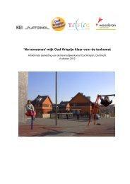 'No-nonsense'-wijk Oud Krispijn klaar voor de toekomst - Kennisbank