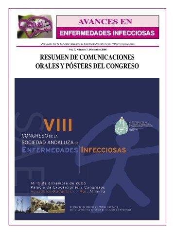 Comunicaciones poster. VIII Congreso de SAEI - Sociedad ...