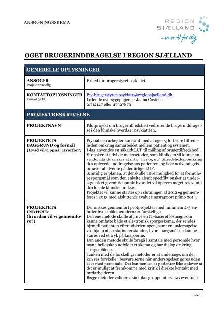 Psykiatrien Enheden for Brugerstyret Psykiatri.pdf - Region Sjælland