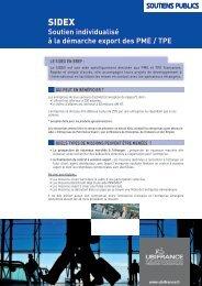 Soutien individualisé à la démarche export des PME ... - CCI Bretagne