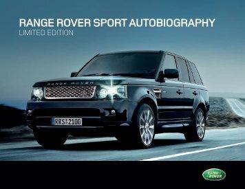 RANGE ROVER SPORT AUTOBIOGRAPHY - Auto Stahl