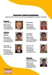 Tryksponsor - Albæk forsamlingshus
