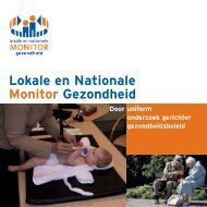GGD-FolderMonitors 06 - Lokale en Nationale Monitors Gezondheid
