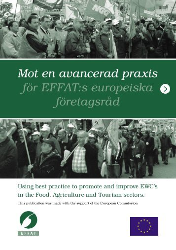 Mot en avancerad praxis för EFFAT:s europeiska företagsråd