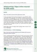 Mot en avancerad praxis för EFFAT:s europeiska företagsråd - Page 5