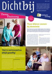 Thema Thuiszorg - de Swinhove Groep