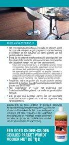 blanchon onderhoud van een geolied parket - Page 3