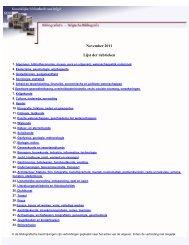November 2011 - Koninklijke Bibliotheek van België