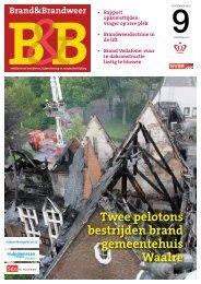 Twee pelotons bestrijden brand gemeentehuis Waalre