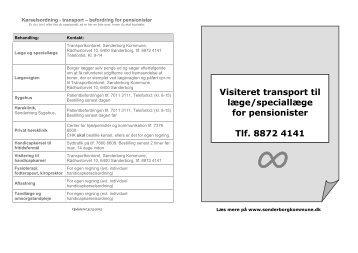 Klik her for at se folderen om transport til læge/speciallæge for ...