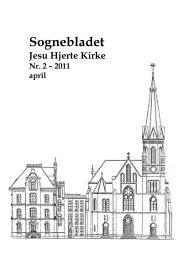 April 2011 - Jesu Hjerte Kirke